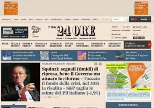 IL SOLE 24 ORE - News di economia